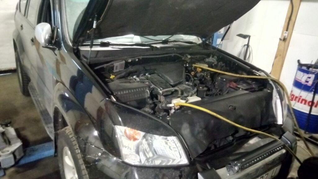 Промывка, чистка системы охлаждения и радиатора печки авто Киев цена Лесная